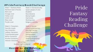 Read more about the article #PrideFantasyBookChallenge
