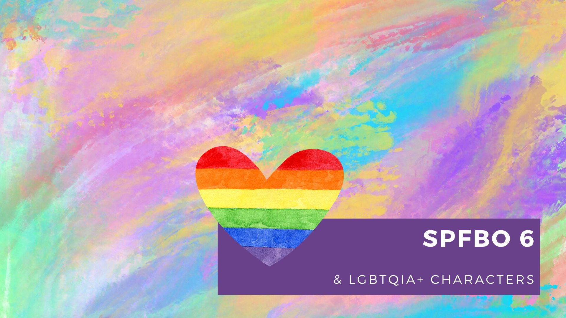 Read more about the article #SPFBO 6 and LGBTQIA+ Characters