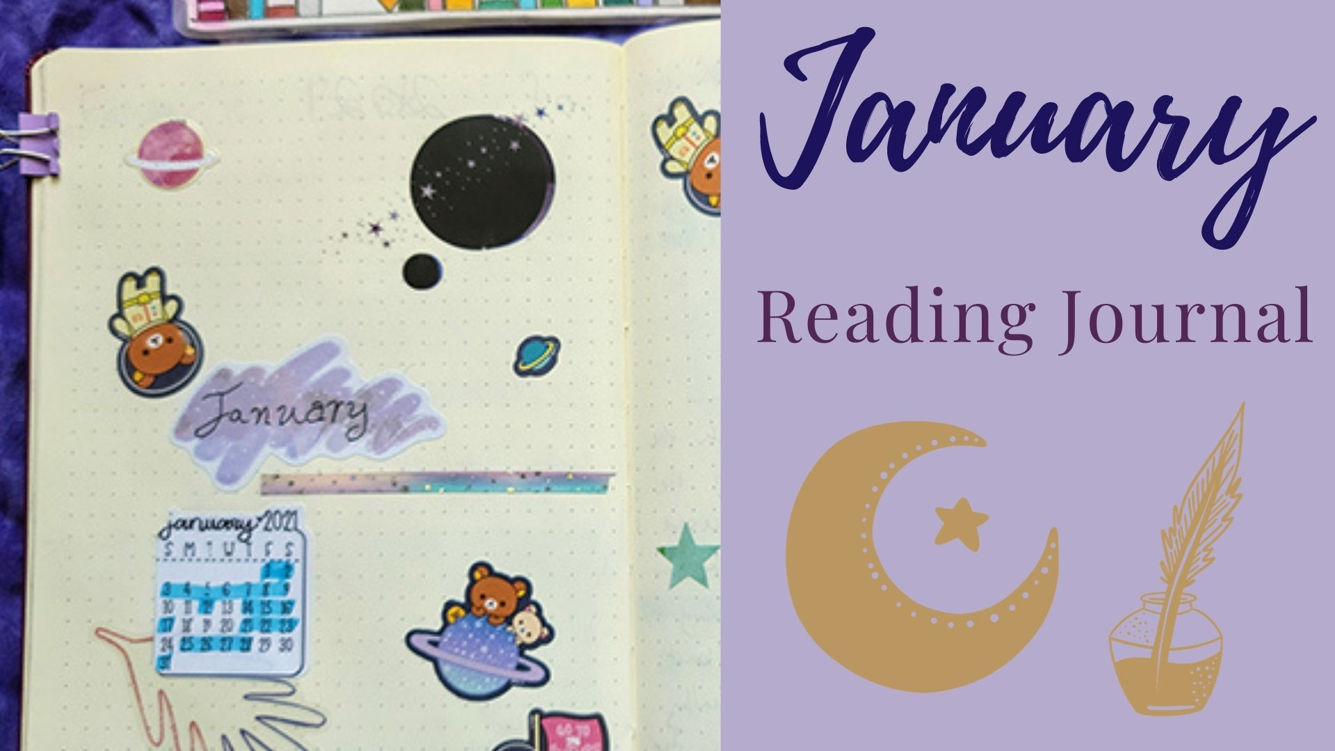 You are currently viewing January Reading Journal: Space Theme