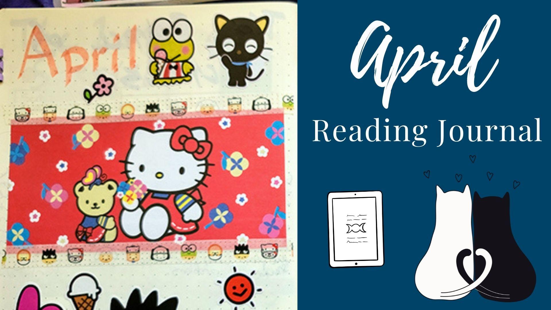 April Reading Journal: Hello Kitty Theme