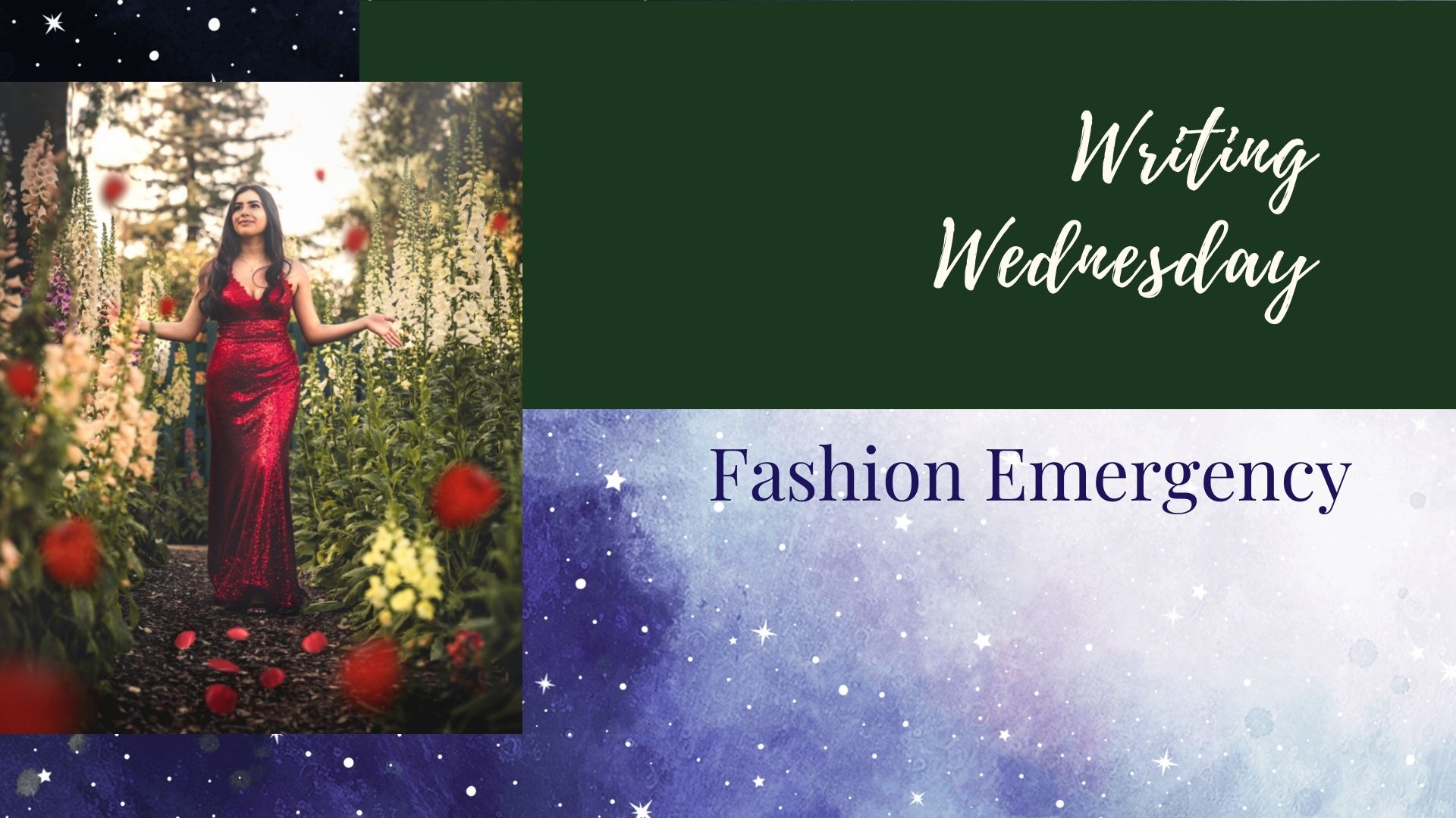 You are currently viewing Writing Wednesday: Fashion Emergency