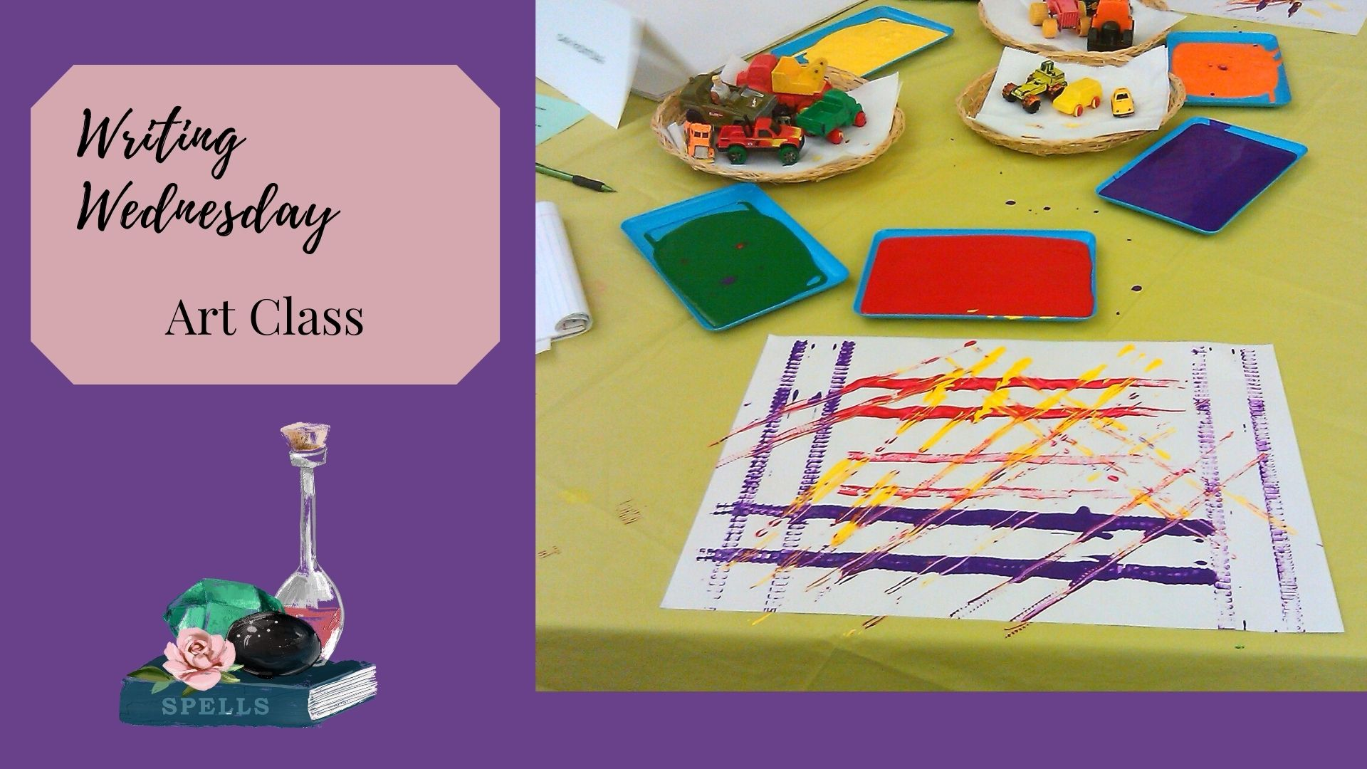 Read more about the article Writing Wednesday: Art Class