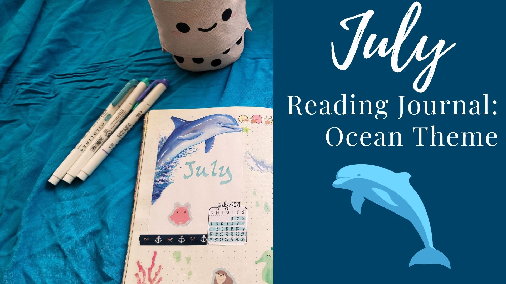 Read more about the article July Reading Journal: Ocean Theme