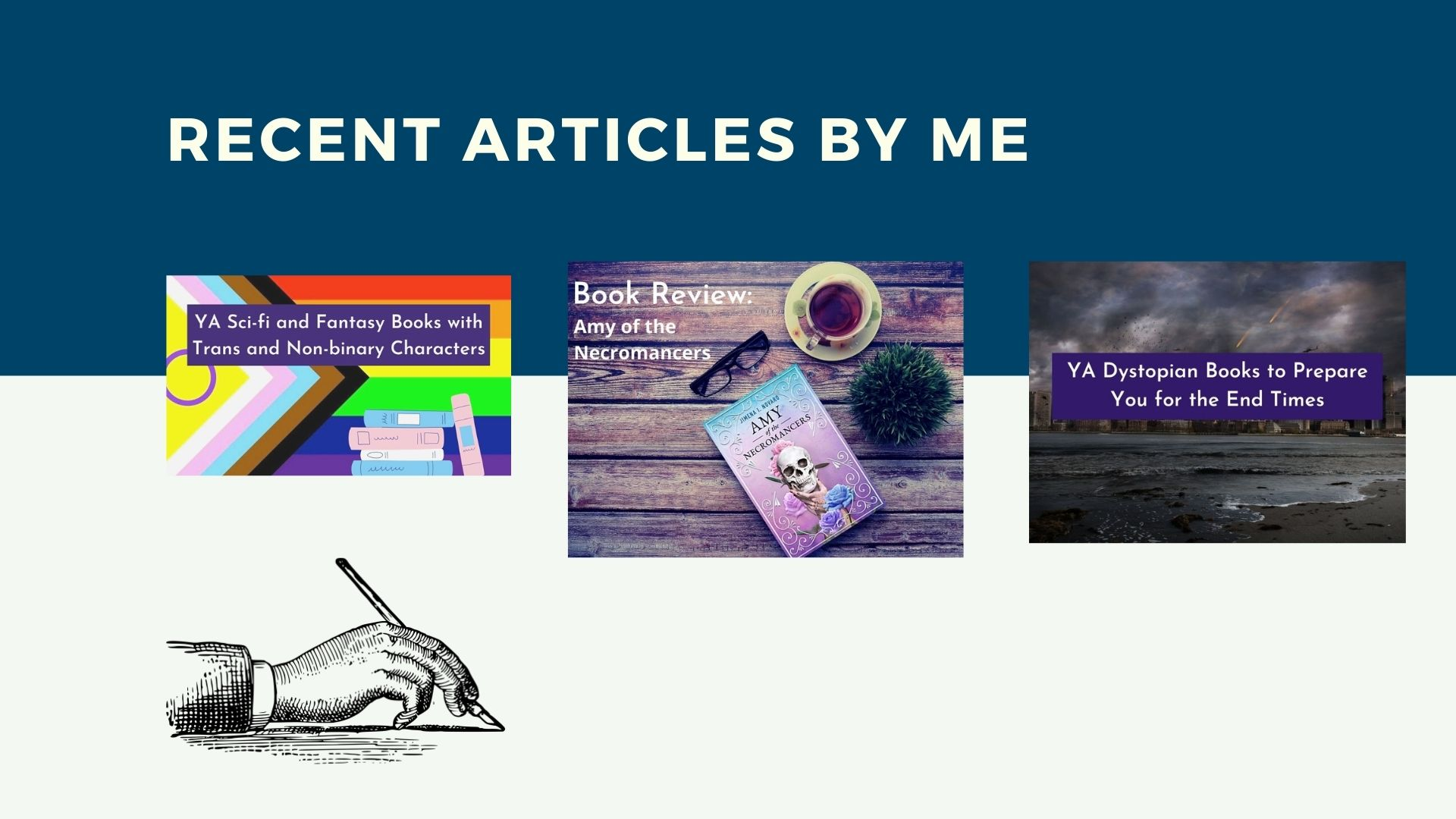 Read more about the article Recent Articles by Me