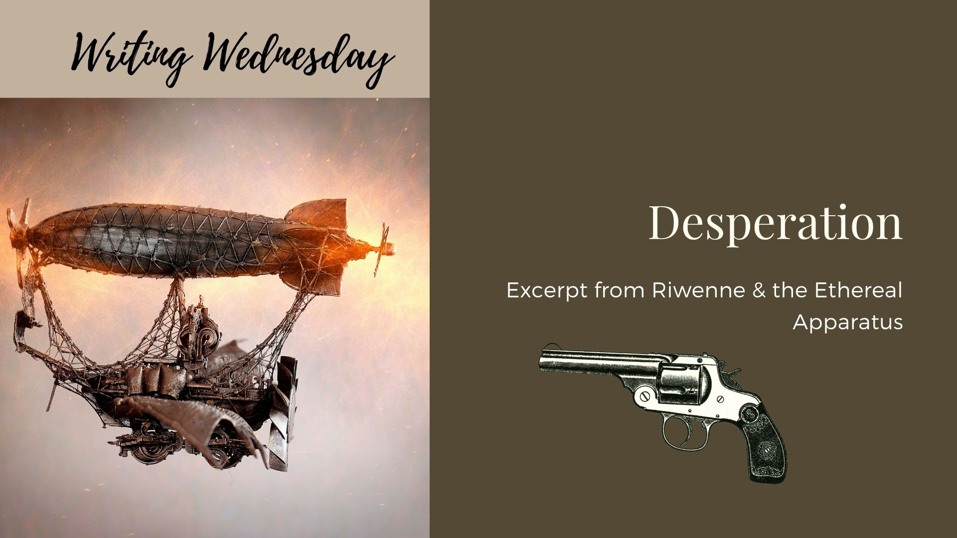 Read more about the article Writing Wednesday: Desperation