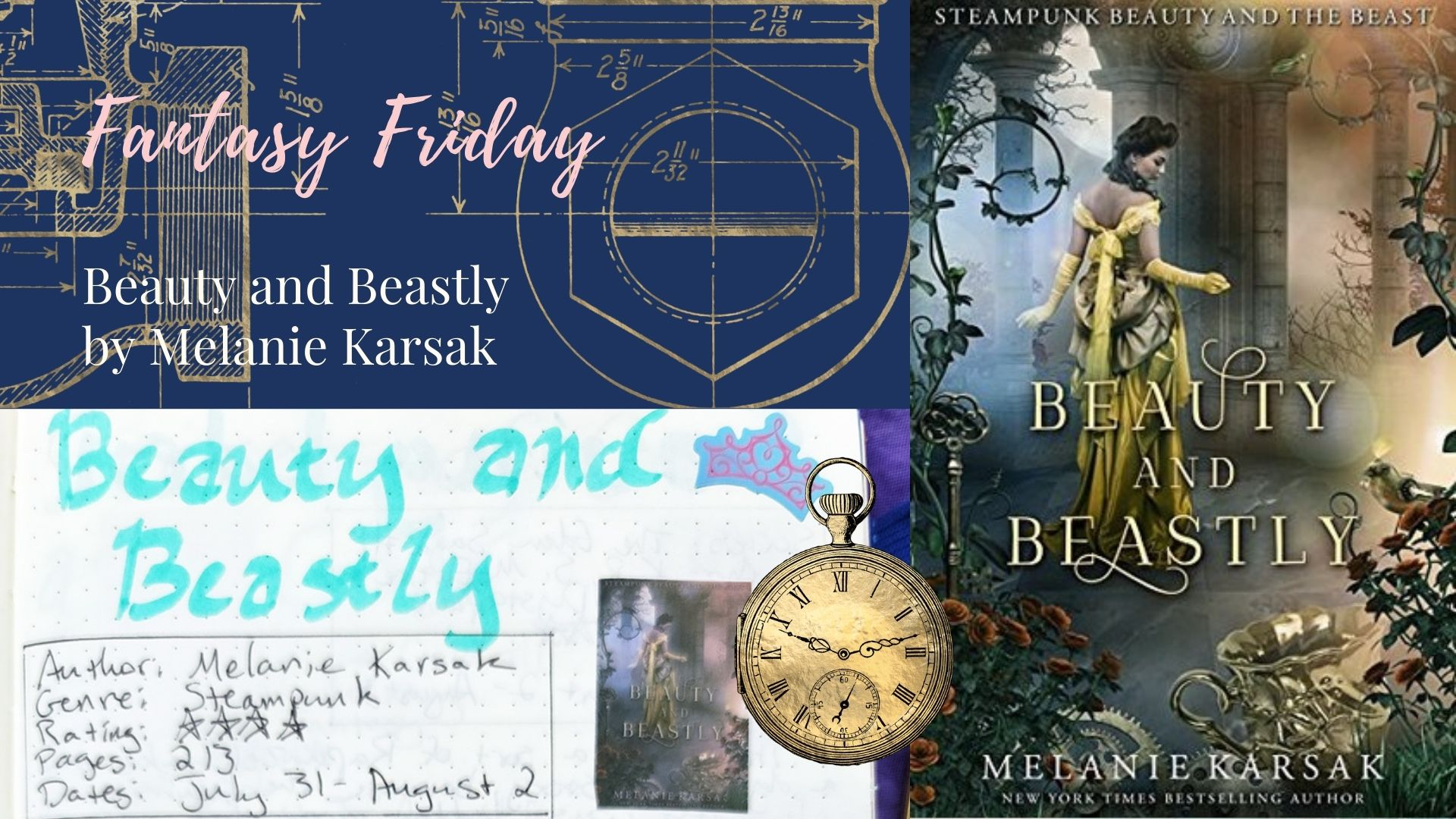 Read more about the article Fantasy Friday: Beauty and Beastly by Melanie Karsak