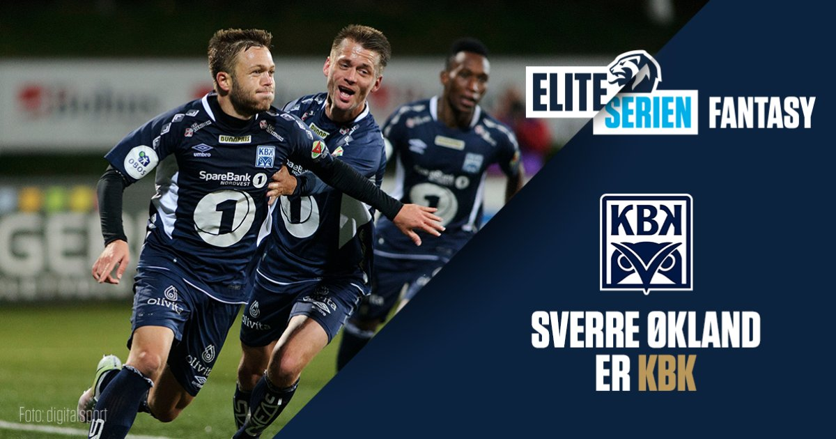 økland Er Kbk Sin Kaptein I Eliteserien Fantasy Kristiansund