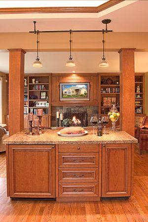 Wine Area/Family Room