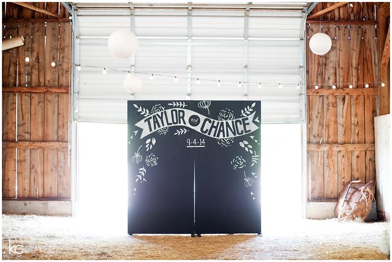 Taylor and Chance Wedding | Kelley Creek Farm