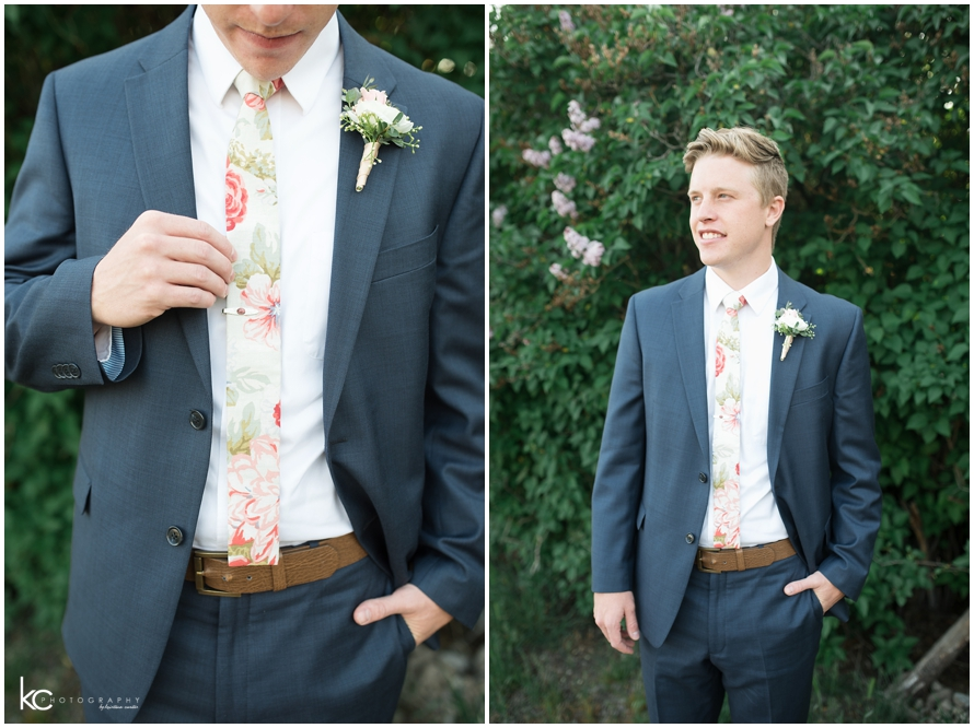 Lilacs + Golden Light Bridals by Kristina Curtis Photography