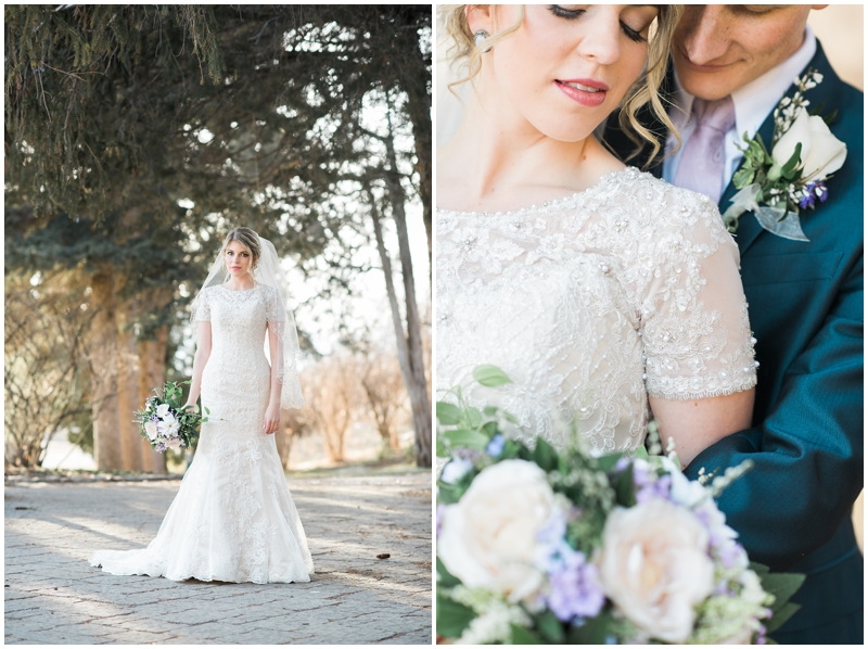 Elegant Winter Bridals |Kristina Curtis Photographer | Utah Wedding