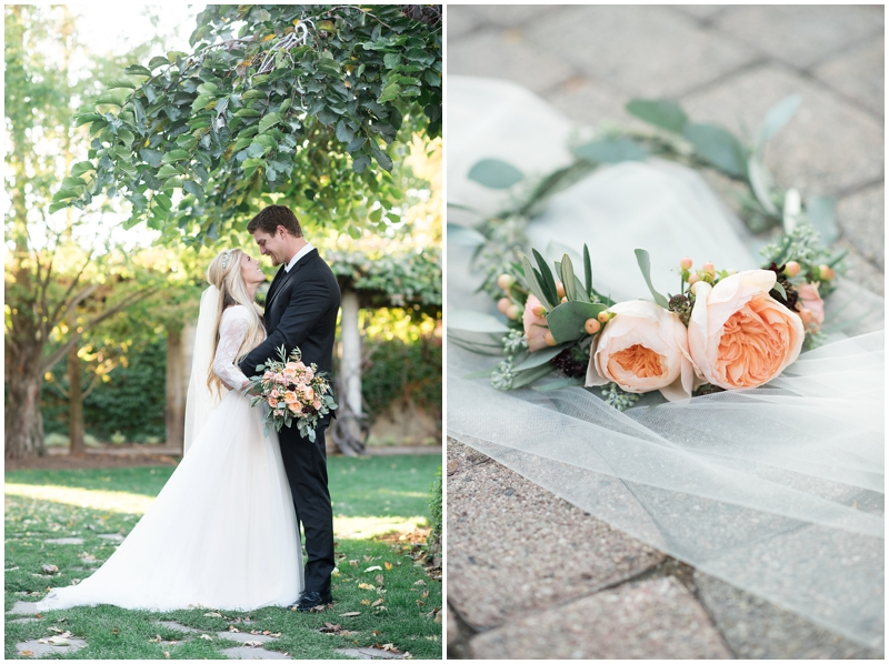 Romantic Bridals at Thanksgiving Point |Kristina Curtis Photography Utah