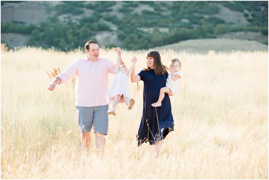 Utah Summer Family Session | Kristina Curtis Photography