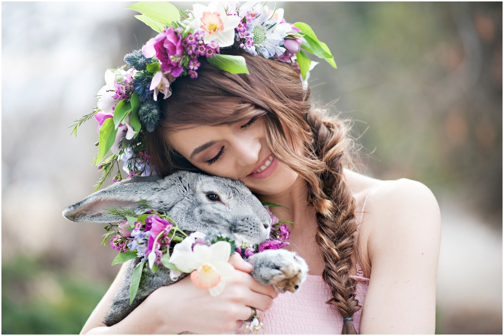 Spring Bunny Bridals | Utah Kristina Curtis Photography | Easter Sunday