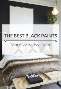 The Best Black Paint Colours For Any Room - Kristina Lynne