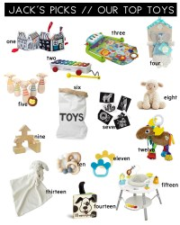 Jack's Picks // The Top Baby Toys - Kristina Lynne