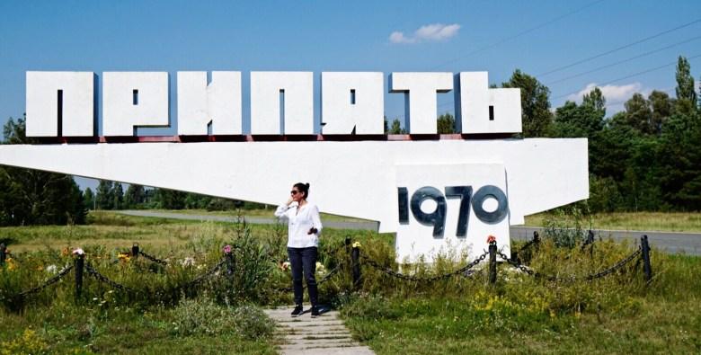 Kristin Amico in Ukraine