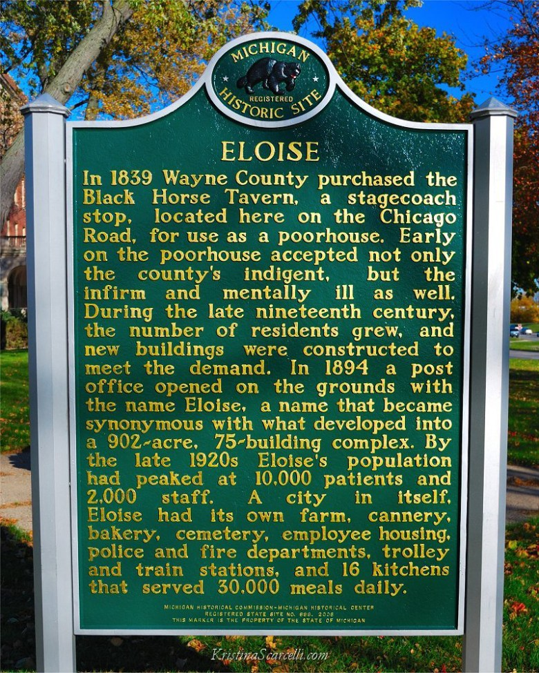 Through the Gates of Eloise (Eloise Hospital, formerly known as the Wayne County Poorhouse and ...