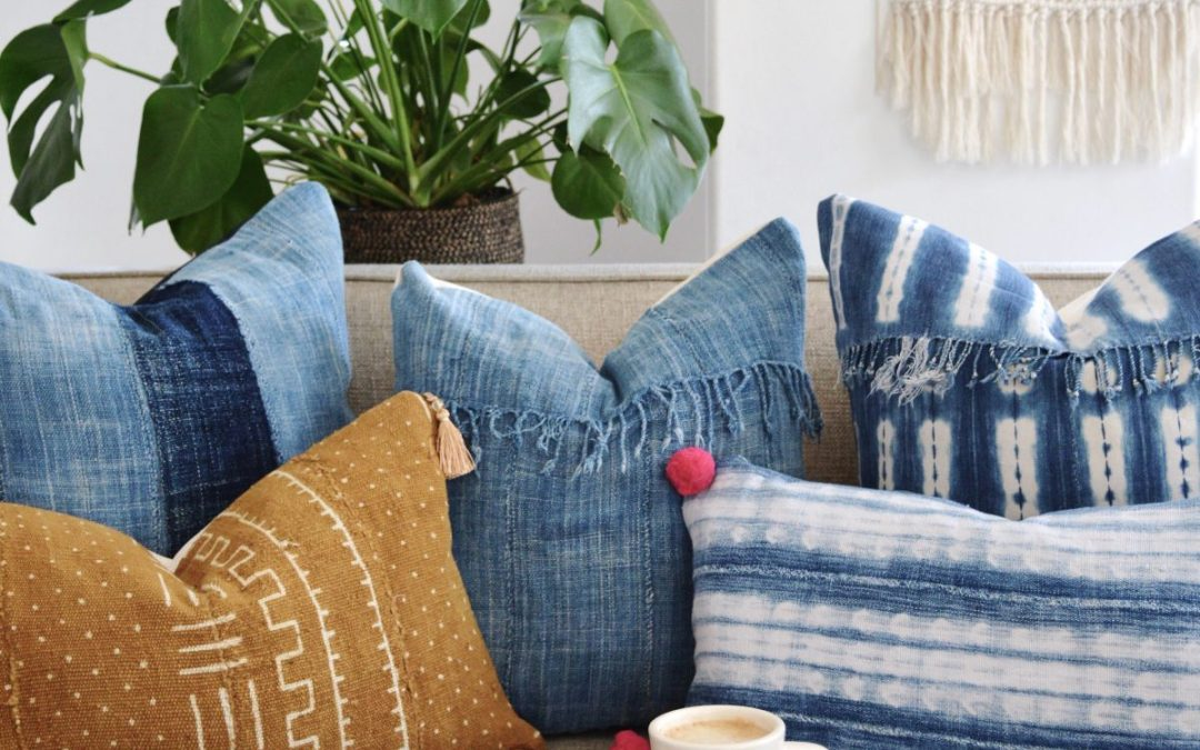 vintage pillows AND durable — an oxymoron?  not anymore!
