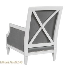 White X Back Chair Cushion Covers Diy Designer Accent Kristin Drohan Collection