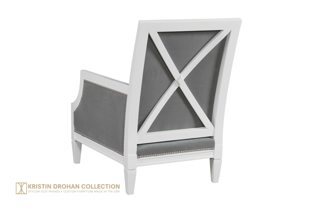 chair design back angle lazy boy recliner covers australia x designer accent kristin drohan collection
