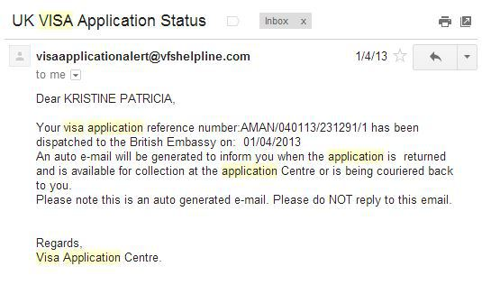 Is My Uk Visa Application Approved By Kristine Camins