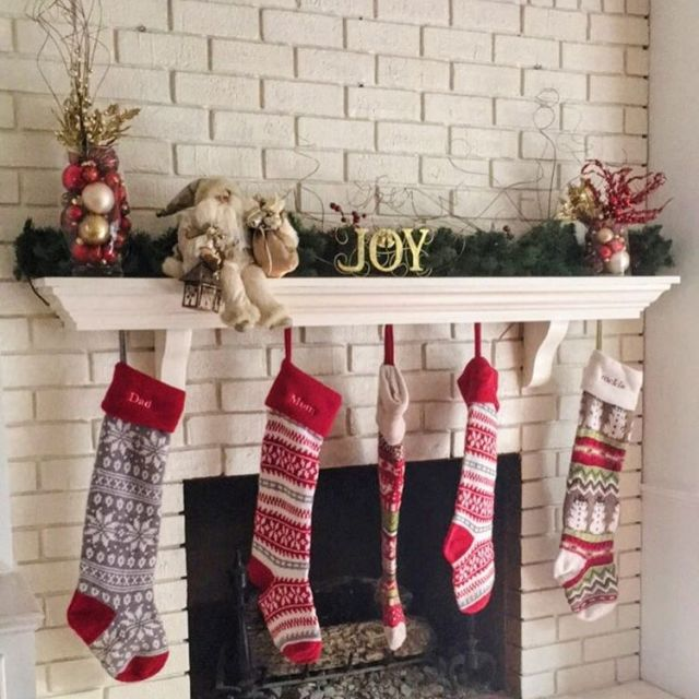All the stockings were hung but the chimney with carehellip