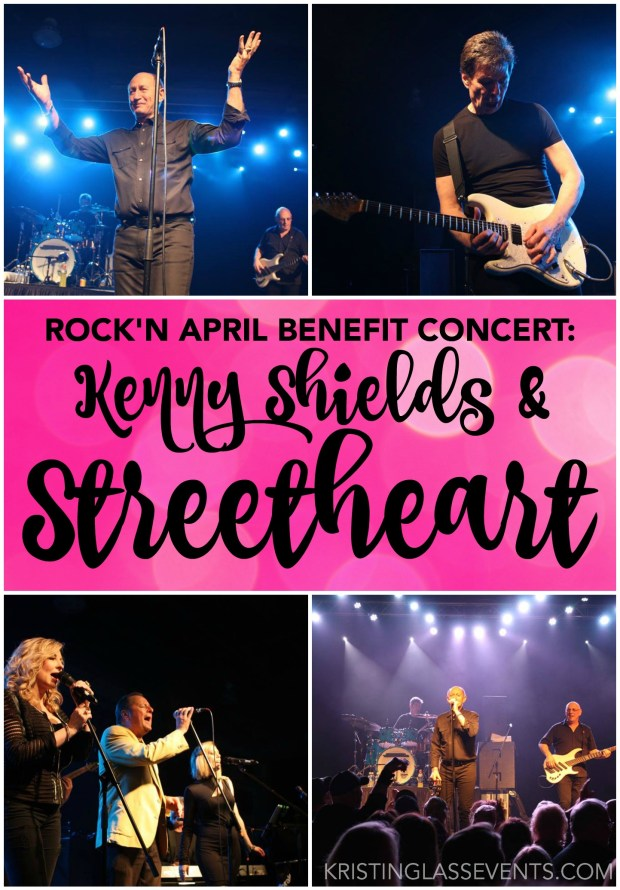 Rock'n April Benefit Concert featuring Kenny Shields & Streetheart took place in Edmonton on April 16, 2016