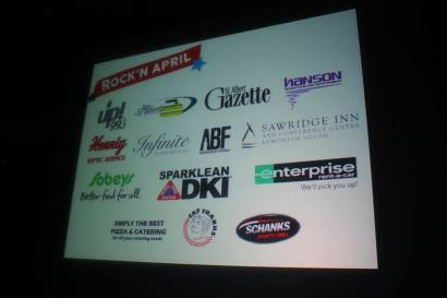 Rock'n April Benefit Concert featuring Kenny Shields and Streetheart - Sponsors