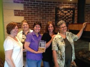 Authors Catherine Conroy, Lisa Roettger, Kristin, Mary Lamphere, and Kathleen Tresemer.
