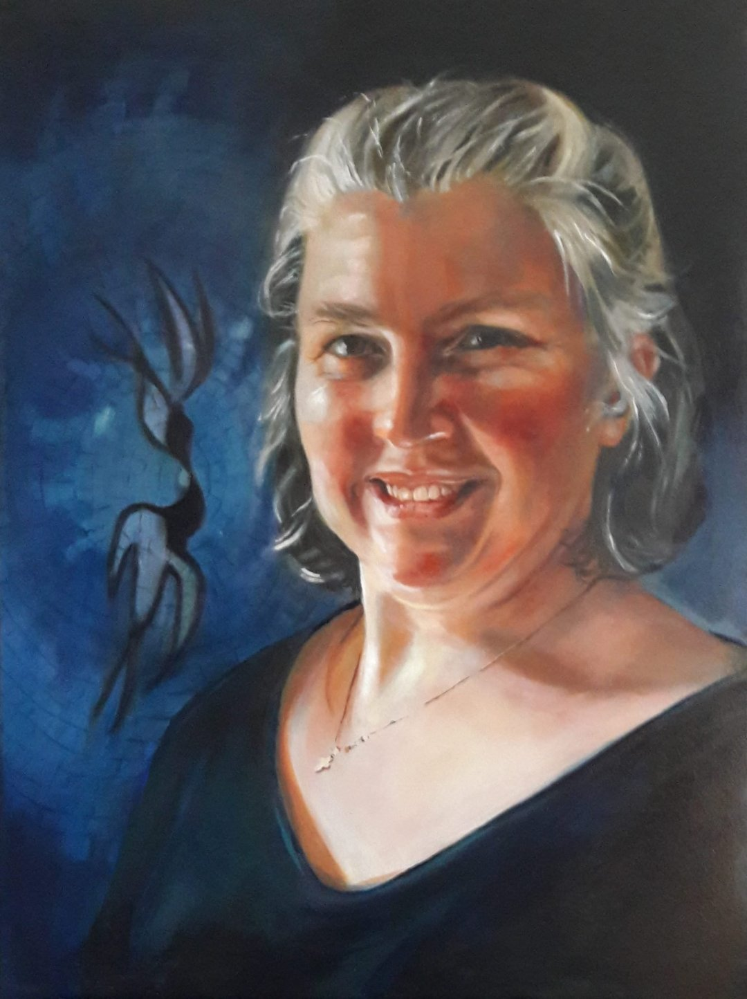 Tina - Oil on canvas