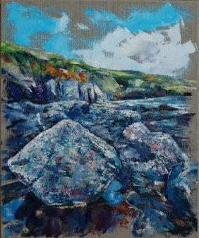 Prussia Cove Cliffs - Amanda Bates