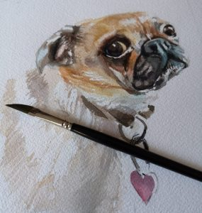 Pug in progress