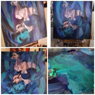Latest painting – Dreamweaver