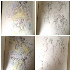 More dance paintings