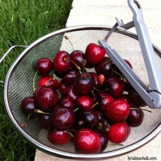 Spiced Cherry Compote