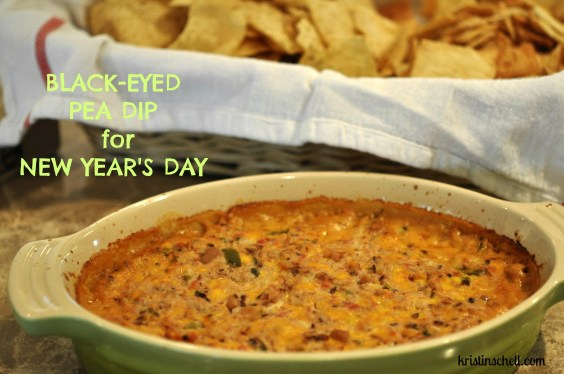 Black Eyed Pea Dip for New Year's Day