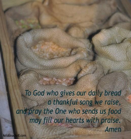 Daily Bread Mealtime Prayers WM
