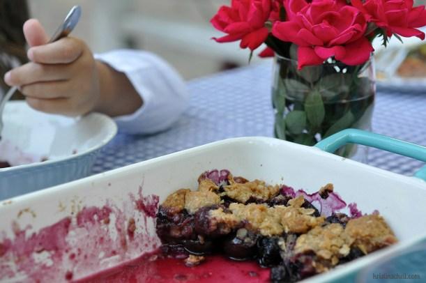 Big Sur Cherry Crisp, Blog WM