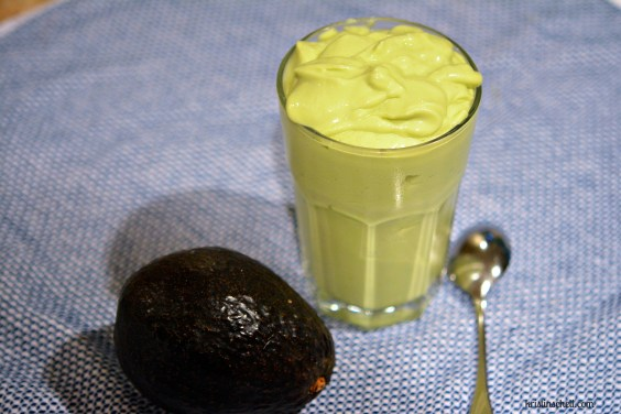 Avocado Coconut Cream Smoothie WM