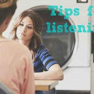 31 Days: Listening