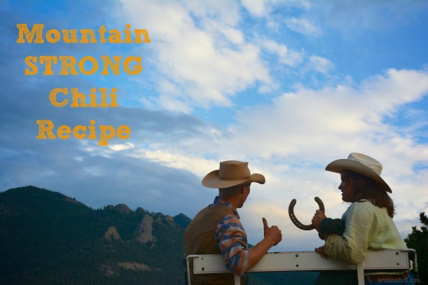 Mountain Strong Chili Recipe | kristinschell.com