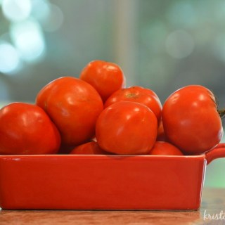 Easy Homemade Tomato & Basil Soup