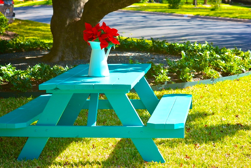 Poinsettias at The Turquoise Table | kristinschell.com