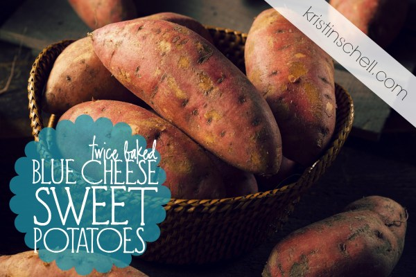 Looking for the perfect potato dish to complete your Christmas Dinner? These Twice Baked Blue Cheese Sweet Potatoes are mouth-watering and a great alternative to the typical cheesy potatoes normally served. See if your family doesn't love them too!