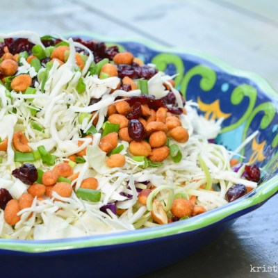 Sweet & Tangy Cole Slaw