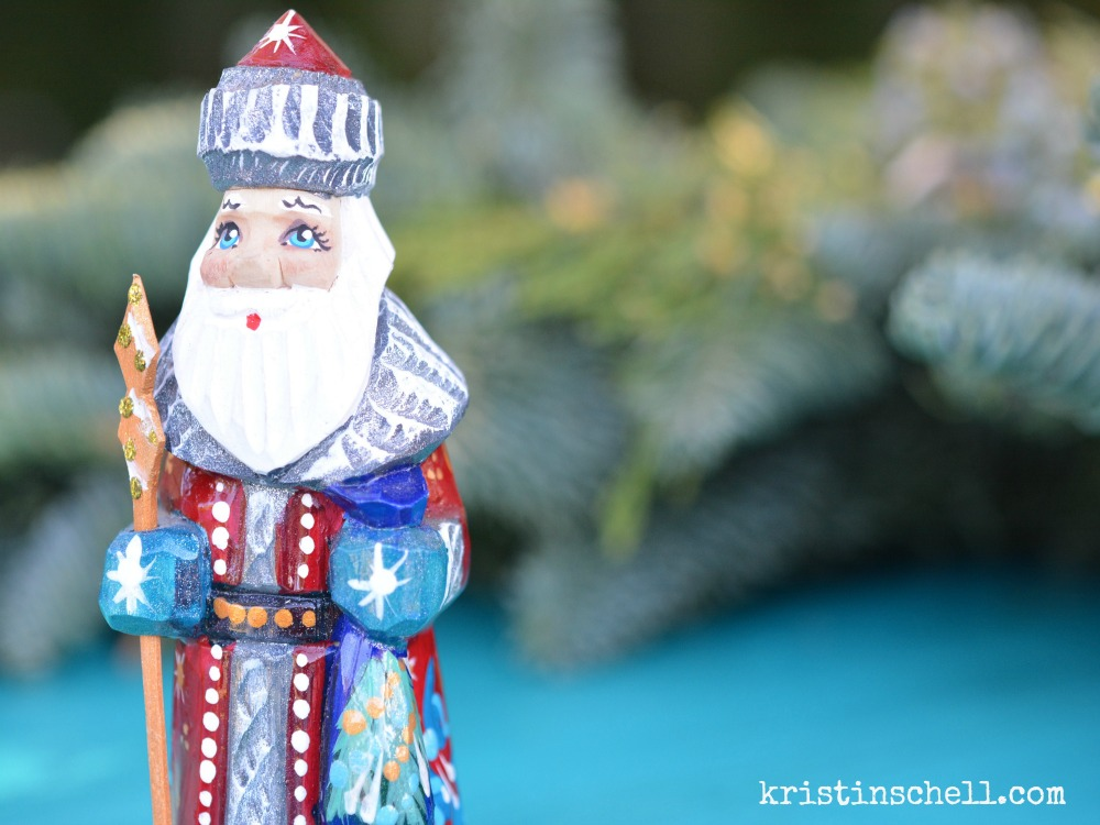 Celebrate St. Nicholas Day in Your Neighborhood #FrontYardPeople #TheTurquoiseTable | kristinschell.com