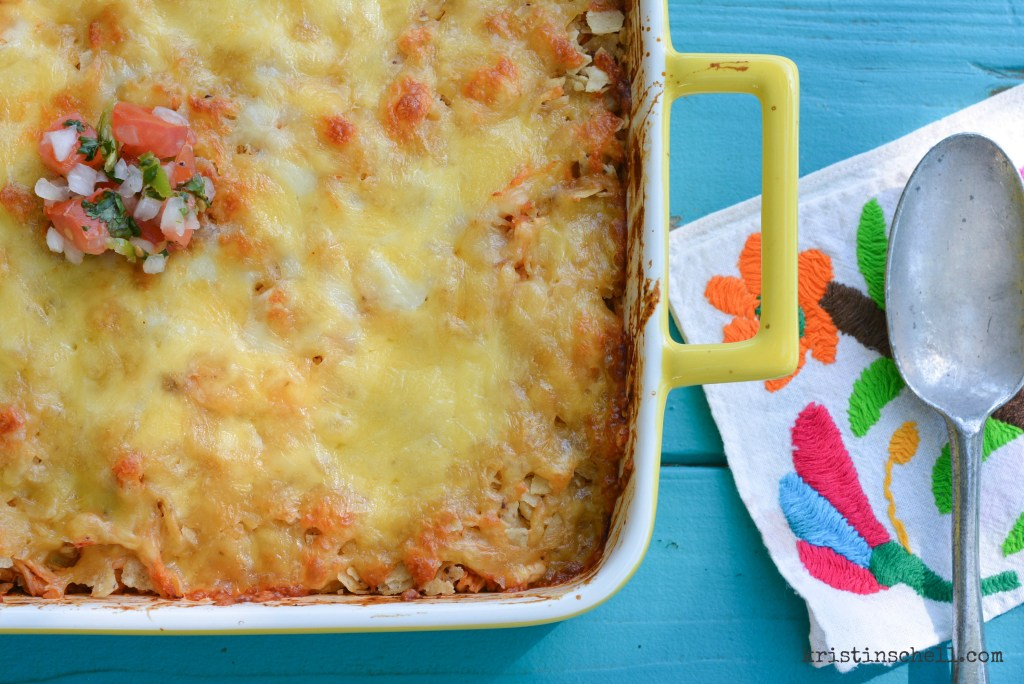 5 Ingredient Tex-Mex Casserole   Our go-to easy, one dish supper   kristinschell.com