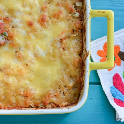 5 Ingredient Tex-Mex Casserole