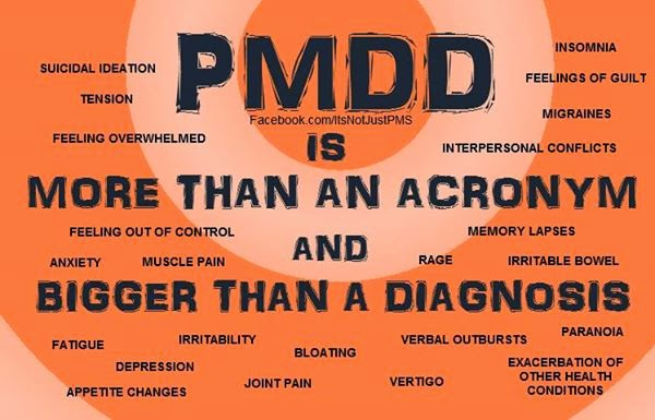 Living with PMDD